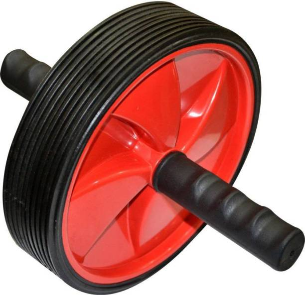 Ketsaal HIGH QUALITY Unisex Ab Abdominal Roller For Home & Gym Workout (RED) Ab Exerciser