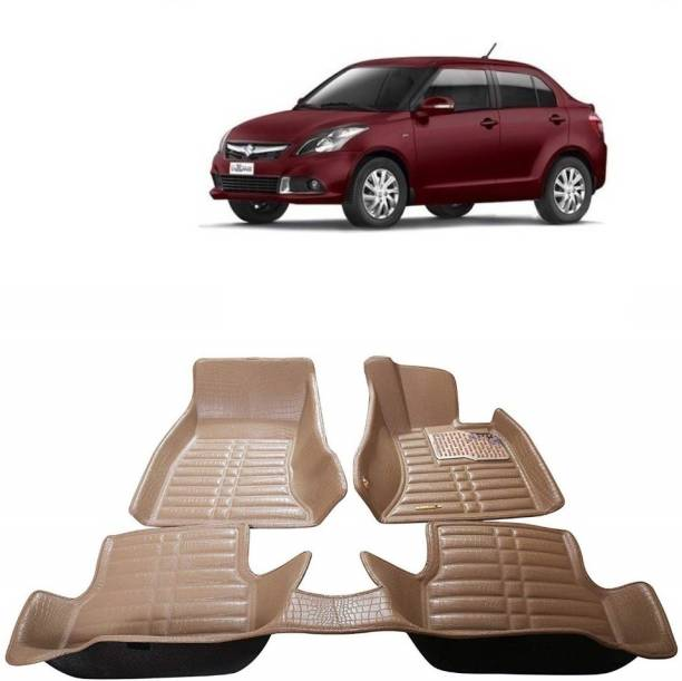 Auto Garh Plastic 5D Mat For  Maruti Suzuki Swift Dzire
