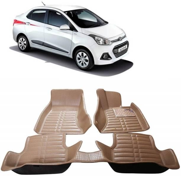 Auto Garh Plastic 5D Mat For  Hyundai Xcent