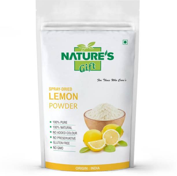 nature's gift LEMON POWDER - 200-GM