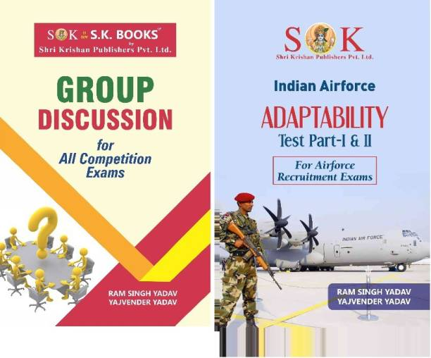 Set Of Air Force Adaptability Test & Group Discussion In English Medium