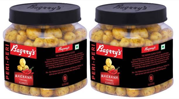 Bagrry's Peri Peri Makhana 100 GM Pack of 2