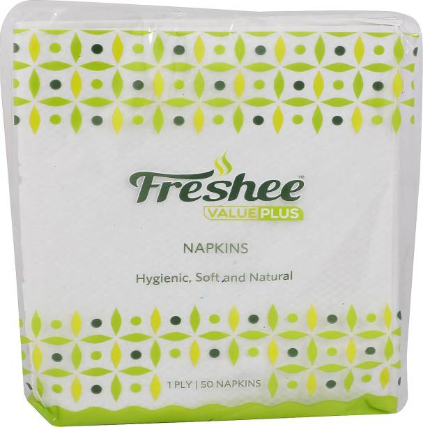 Freshee 1 ply Virgin Fibre Tissue Value Plus Range that offer fresh soft and hygienic experience