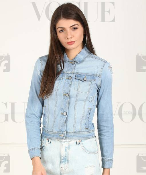 96137ada9 Denim Jackets - Buy Jean Jackets for Women   Men online at best ...
