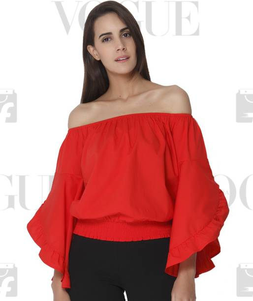 edbd8b97b6921 Off Shoulder Tops - Buy Off Shoulder Tops   One Shoulder Tops Online ...