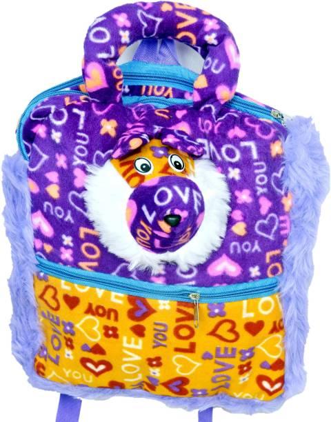 3G Collections Love Teddy Soft Toy Kids Plush Backpack/ School Bag/ Travelling Bag/ Carry Bag/ Picnic Bag/ Teddy Bag Waterproof Plush Bag