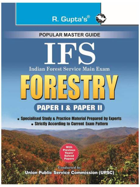 Ifs Indian Forest Service Forestry Guide (Paper 1 & 2) - Main Exam