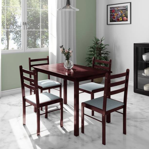 Flipkart Perfect Homes Capri Engineered Wood 4 Seater Dining Set
