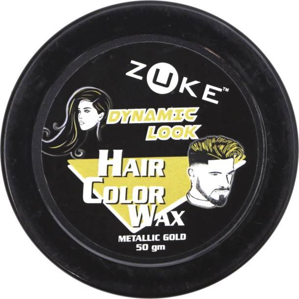 zuke Dynamic Look Hair Gold Color Wax Hair Wax