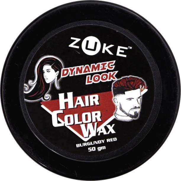 zuke Dynamic Look Hair Red Color Wax Hair Wax
