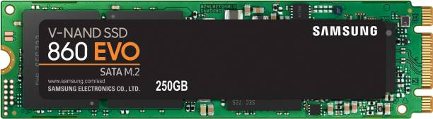 SAMSUNG 860 EVO 250 GB Laptop, All in One PC's, Desktop Internal Solid State Drive (MZ-N6E250BW)