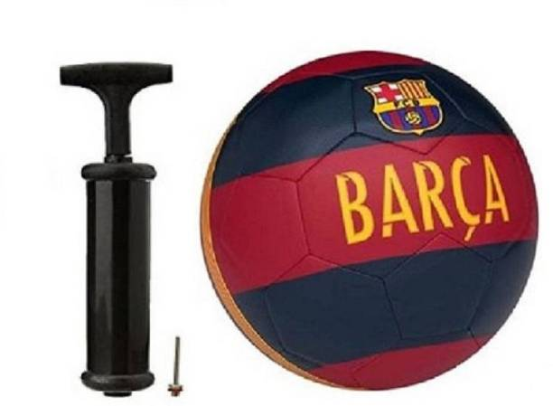 WBR Barca RedWith Inflating Air pump Football Kit
