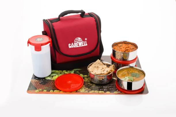 Carewell Champ R 4 Containers Lunch Box