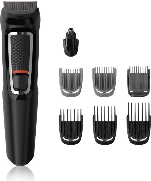 PHILIPS MG3730 Multi-Grooming Kit For Men  Runtime: 60 min Trimmer for Men