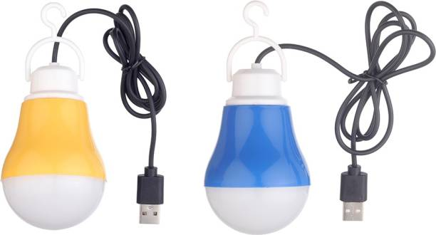 Flipkart SmartBuy (Pack of 2) Portable USB Bulb Led Light