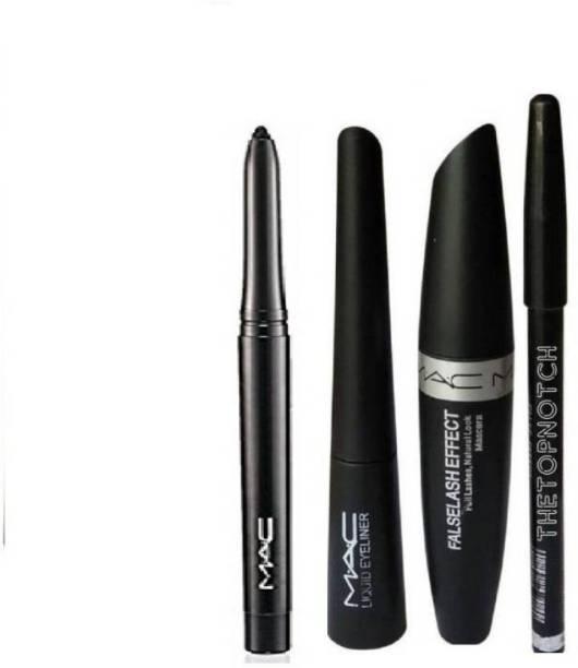 3f1c0e0d808 TheTopNotch Eyebrow Pencil Black   Mac Liquid EyeLiner   Mac Mascara    Kazal (MAC 4in1