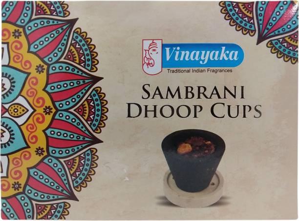 Vinayaka Sambrani Cups Sandal Dhoop