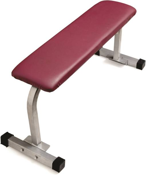 Livestrong Heavy Duty Flat Multipurpose Bench Multipurpose Fitness Bench