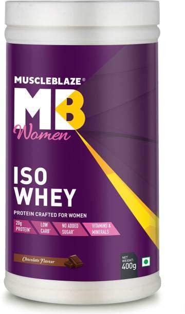 MUSCLEBLAZE Women Iso 100% Whey Protein