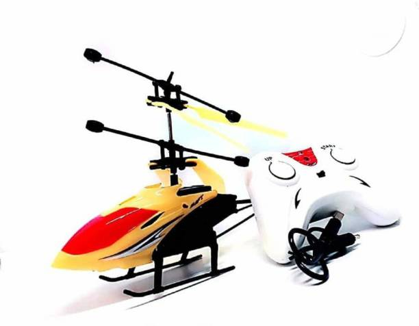 X-Zini X- Zini Rechargeable 2-in-1 Flying Indoor Helicopter with Remote.
