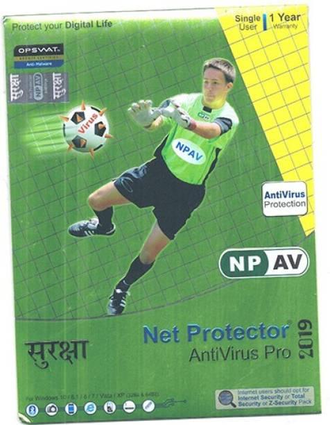 Net Protector Anti-virus 1.0 User 1 Year