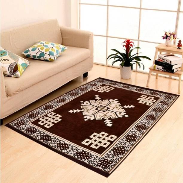 Home THE BEST Multicolor Chenille Carpet