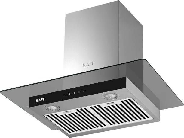 Kaff ASTRA DHC-60 CM() LIFE TIME WARRANTY Auto Clean Wall Mounted Chimney