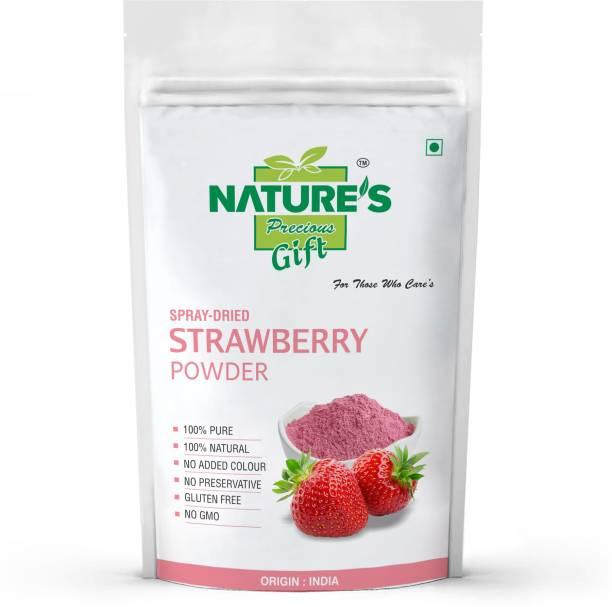 Nature's Precious Gift Strawberry Powder - 250 GM