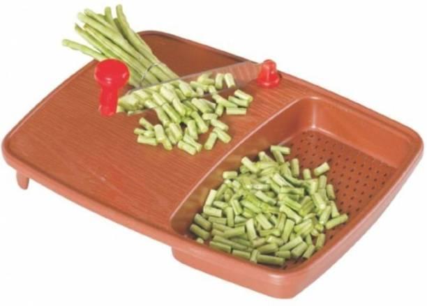 Nightstar Cut And Wash Vegetable & Fruits Cutting Board Straight Peeler