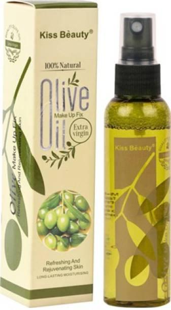 Kiss Beauty Oilve Oil Long lasting moisturizing Makeup up Fixer  Primer  - 120 ml