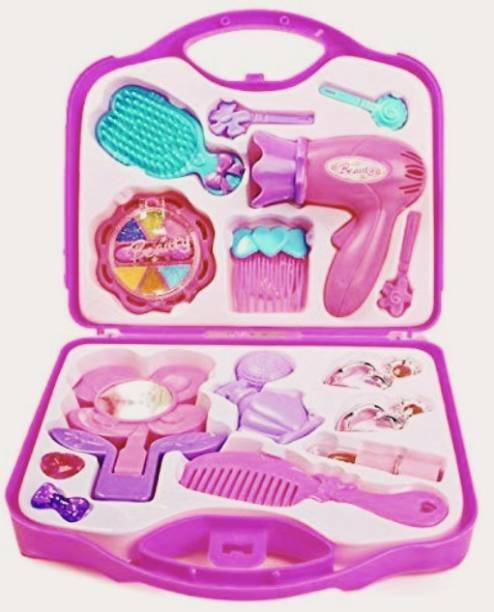 Goodluck Beautiful Dream Beauty Makeup Set Suitcase Kit Toys For Kids