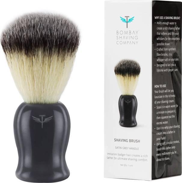 BOMBAY SHAVING COMPANY Imitation Badger , Cruelty-Free Bristles Shaving Brush