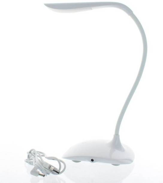 Meenamart Power Plus Flexi Swan Led Tableware / Desk/Study/Night Lamp Model E-125 Study Lamp