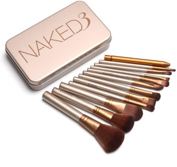 RHV Naked3 Urban Series Makeup Brush Set