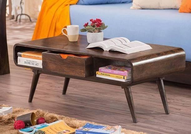 Allie Wood Sheesham Wood Solid Wood Coffee Table