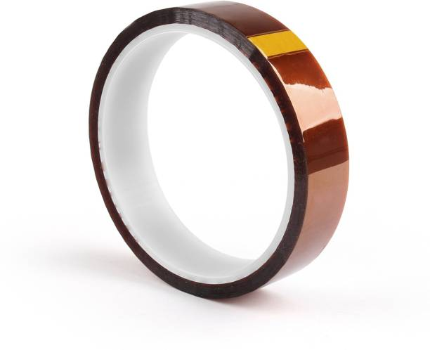 ECSTATIC Polymide Tape 20 MM Kapton Polyimide High Temperature Heat Resistant Tape Multi-Sized with Silicone Adhesive for Masking