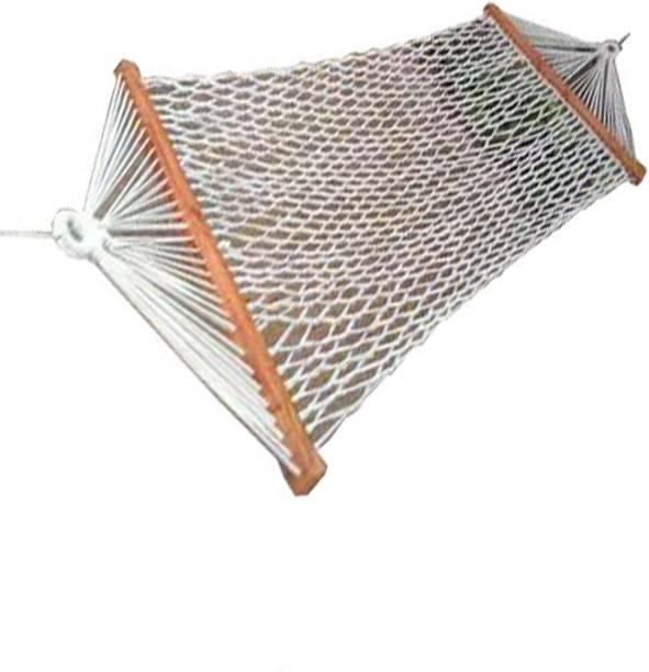 Smita Handicraft Camping with Net Rope Cotton Swing