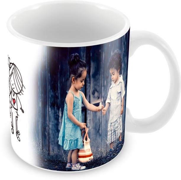 Flipkart SmartBuy My Fabulous Sister Printed For Tea And Coffee Ceramic Coffee Mug
