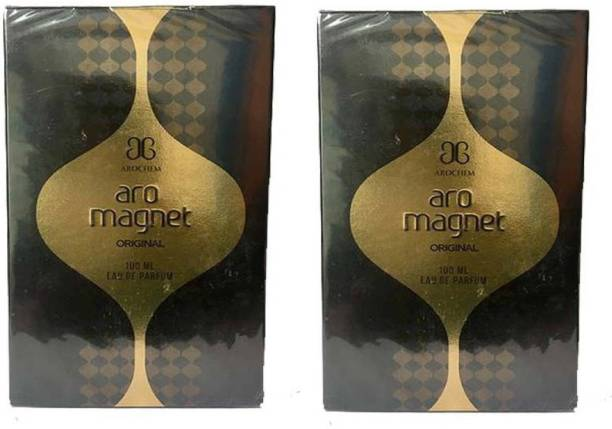 AROCHEM Magnet Perfume 100ML Each (Pack of 2) Eau de Parfum  -  200 ml