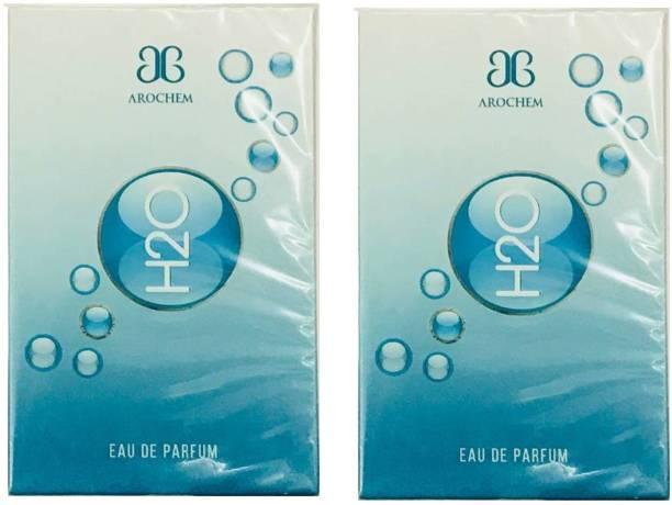 AROCHEM H2O Perfume 100ML Each (Pack of 2) Eau de Parfum  -  200 ml