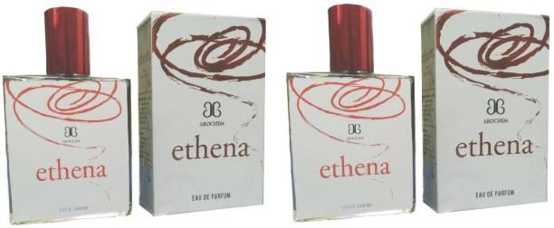 AROCHEM Ethena Perfume 100ML Each (Pack of 2) Eau de Parfum  -  200 ml