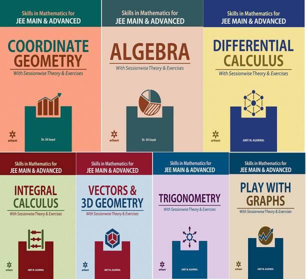 Arihant Mathematics Jee Main & Advanced Sets Of 7 Books