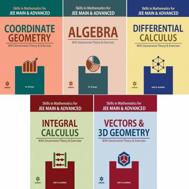 Arihant Mathematics Jee Main & Advanced (5 Book Set) Coordinate Geometry,vector & 3d Geometry,integral Calculas,algebra,differential Calculus