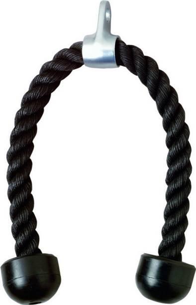 VENOM Black Color Bisecps, Triceps Rope (MIDDLE ECONOMY) Triceps Bar