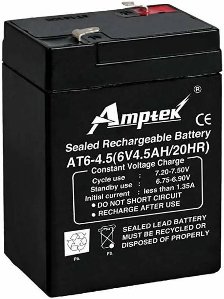 AMPTEK 6 VOLT 4.5 AH BATTERY  Battery