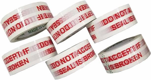 EzeePacks Bopp Manual ''DO NOT ACCEPT IF SEAL IS BROKEN'' Printed Tape 65m x2 Safe Packing ! (Manual)