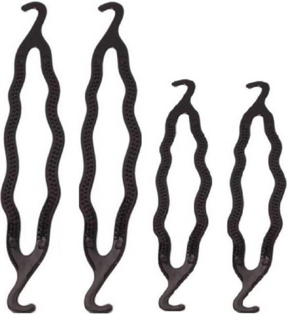 af0cca40db ADJD Hair Bun Maker Magic Clip Curler Shaper Styling Tool Bun Stick, Bun,  Bun