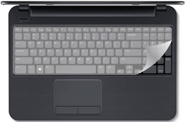 Transparent Saco Chiclet Keyboard Skin for HP Pavilion 15-n013TXLaptop