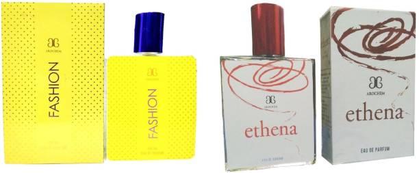 AROCHEM Fashion and Ethena Perfume 100ML Each (Pack of 2) Eau de Parfum  -  200 ml