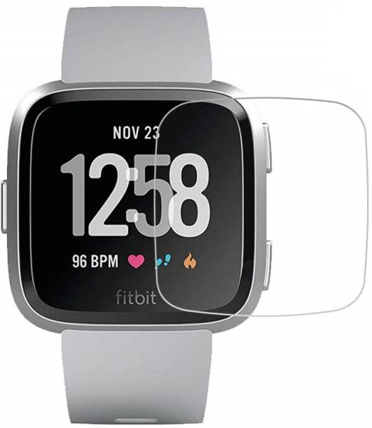 iloft Tempered Glass Guard for Fitbit Versa Lite (9H Hardness)